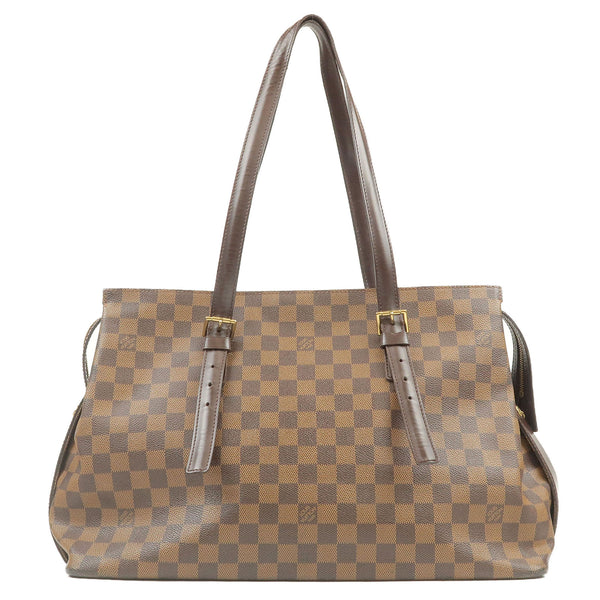 Louis-Vuitton-Damier-Chelsea-Tote-Bag-Brown-N51119