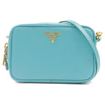 PRADA-Leather-Shoulder-Bag-Pouch-Blue-1N1674