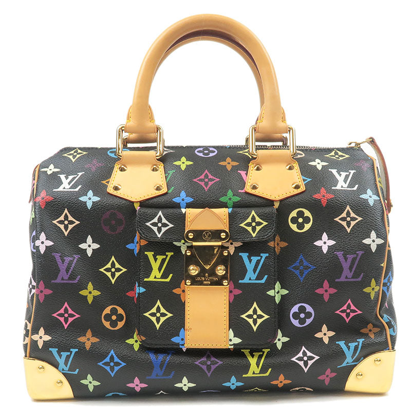 Louis-Vuitton-Monogram-Multi-Color-Speedy-30-Hand-Bag-M92642