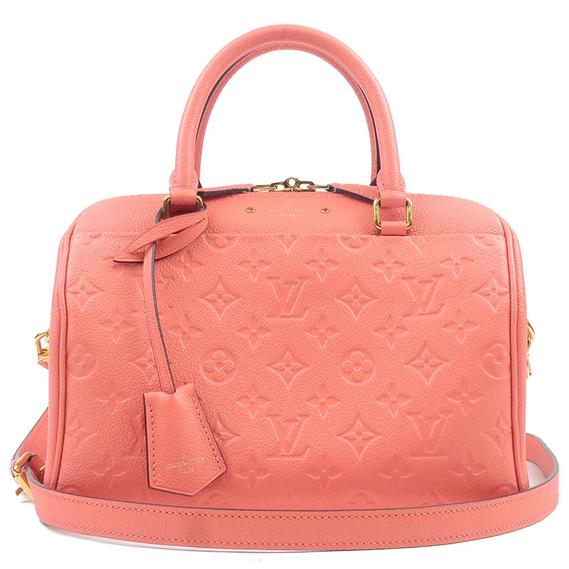 Louis-Vuitton-Monogram-Empreinte-Speedy-25-Boston-Bag-Pink-M42403