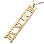 Tiffany&Co.-Open-Atlas-Bar-Necklace-Pendant-K18-Yellow-Gold