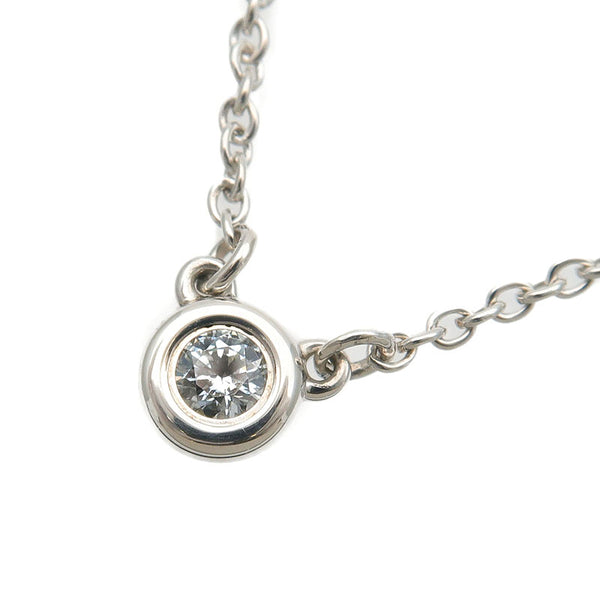 Tiffany&Co.-By-the-Yard-1P-Diamond-Necklace-0.05ct-925-Silver