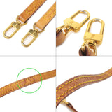 Louis Vuitton Set of 3 Leather Shoulder Strap J00145 J52314-dct-ep_vintage luxury Store
