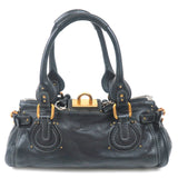 Chloé Paddington Leather Hand Bag Black