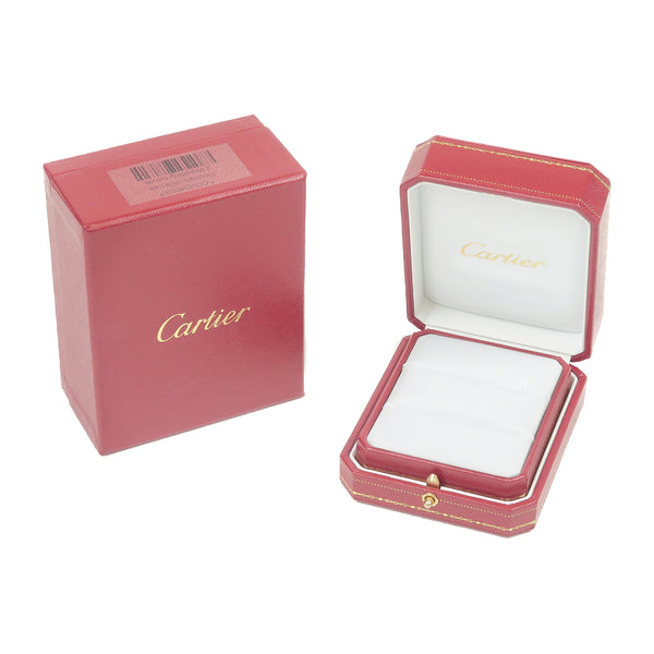 Cartier Pair Ring Box Display Box Jewelry Box For Ring Red-dct-ep_vintage luxury Store