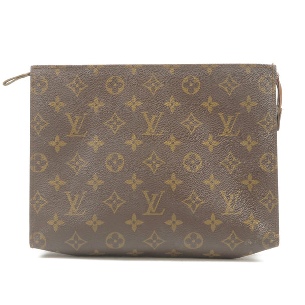 Louis Vuitton Monogram Poche Toilette 26 Pouch Clutch M47542
