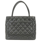 CHANEL Caviar Skin Tote Bag Black A01804-dct-ep_vintage luxury Store