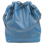 Louis Vuitton Epi Noe Shoulder Bag Toledo Blue M44005