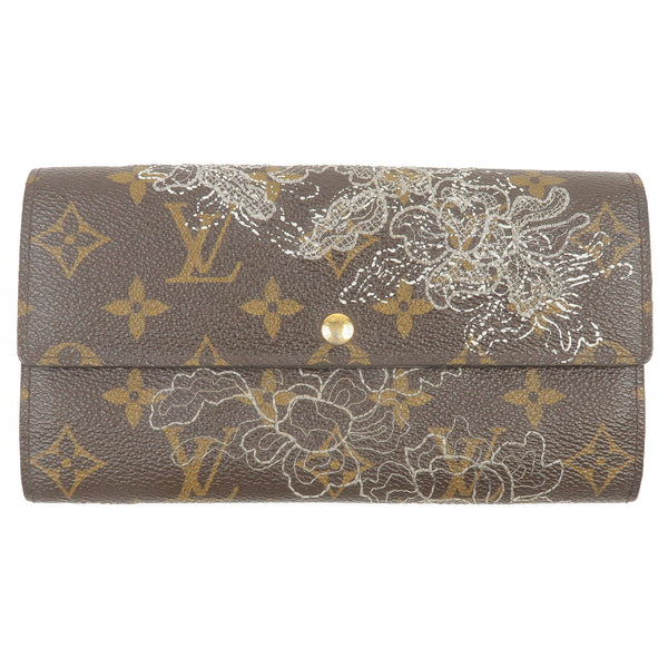 Louis Vuitton Monogram Denttelle Portefeuille Sarah Wallet M95390