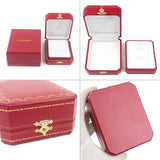 Cartier Set of 3 Pair Ring Box Jewelry Box For Ring Red-dct-ep_vintage luxury Store