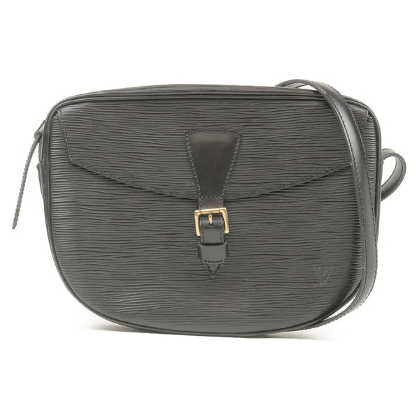 Louis Vuitton Epi Jeune Fille Shoulder Bag Noir M52152