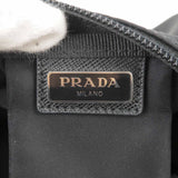 PRADA Nylon Cosmetic Toiletries Pouch Clutch Black 1NA021-dct-ep_vintage luxury Store