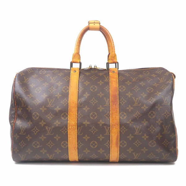 Louis Vuitton Monogram Keep All 45 Boston Bag M41428-dct-ep_vintage luxury Store