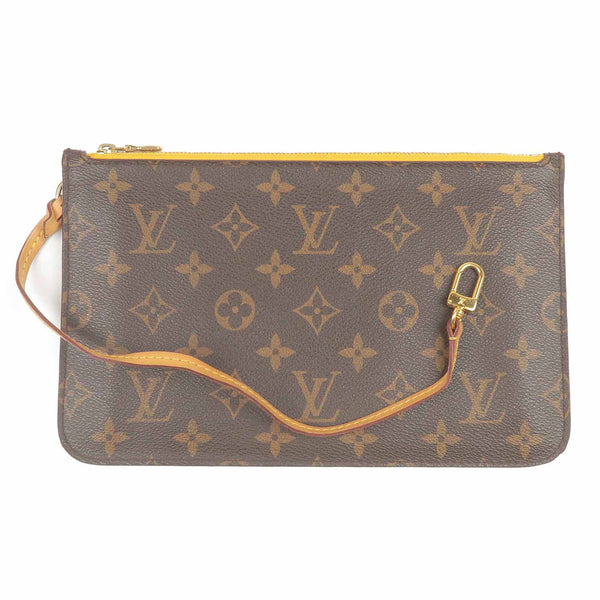 Louis Vuitton Monogram Pouch for Neverfull MM Mimosa-dct-ep_vintage luxury Store