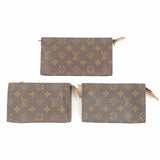 Louis Vuitton Monogram Set of 3 Pouch For Bucket PM GM