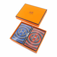 HERMES Set of 2 Playing Cards Domino Print-dct-ep_vintage luxury Store