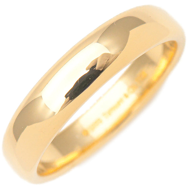 Tiffany&Co. Classic Band Ring Yellow Gold US8.5 HK19 EU58.5