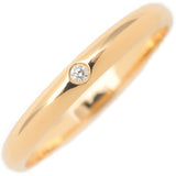 Cartier Wedding Ring 1P Diamond Yellow Gold #56 US7.5 EU56