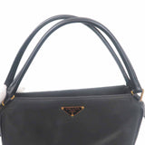 PRADA Nylon Leather Shoulder Bag Black-dct-ep_vintage luxury Store