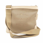 PRADA Logo Jacquard Leather Shoulder Bag Beige Ivory-dct-ep_vintage luxury Store