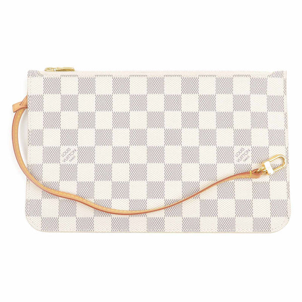 Louis Vuitton Damier Azure Pouch for Neverfull MM Wristlet-dct-ep_vintage luxury Store