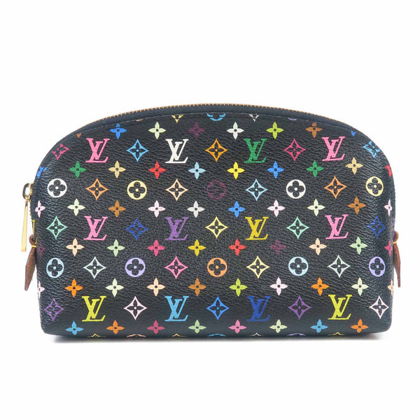 Louis Vuitton Monogram Multi Color Pochette Cosmetic M47355-dct-ep_vintage luxury Store