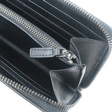 MCM Skyoptic Visetos Wallet PVC Leather Black MYL9SSV63