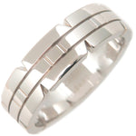 Cartier Tank Francaise Ring White Gold K18 #57 US8-8.5 EU58
