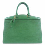 Louis Vuitton Epi Riviera Hand Bag Green M48184