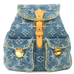 Louis Vuitton Monogram Denim Sac A Dos PM Backpack M95057