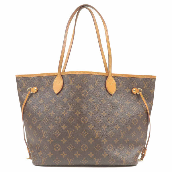 Louis Vuitton Monogram Neverfull MM Tote Bag Cerise M41177