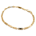 Cartier Figaro Bracelet 18K 750 Yellow Gold