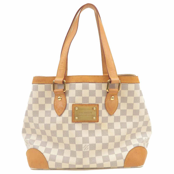 Louis Vuitton Damier Azur Hampstead PM Hand Bag N51207
