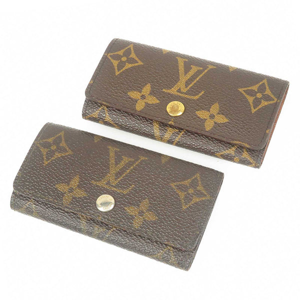 Louis Vuitton Monogram Set of 2 Multiclés 4 Key Case M62631