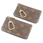 Louis Vuitton Monogram Set of 2 Pochette Cles CoinCase M62650