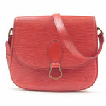 Louis Vuitton Epi Saint Cloud Shoulder Bag Red M52197