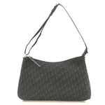 Christian Dior Trotter Shoulder Bag Hand Bag Canvas Black