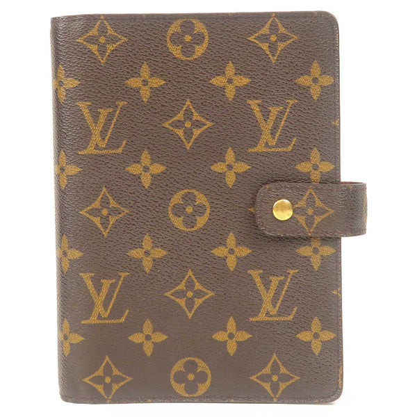 Louis Vuitton Monogram Agenda MM Planner Cover R20004