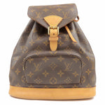 Louis Vuitton Monogram Montsouris MM Back Pack Bag M51136