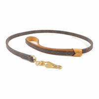 Louis Vuitton Monogram Baxter MM Dog Leash M58056