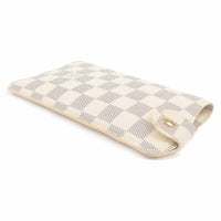 Louis Vuitton Damier Azur etui a lunettes MM Glass Case N60025