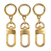 Louis Vuitton Set of 3 Ano Cles Key Chain Gold M62694