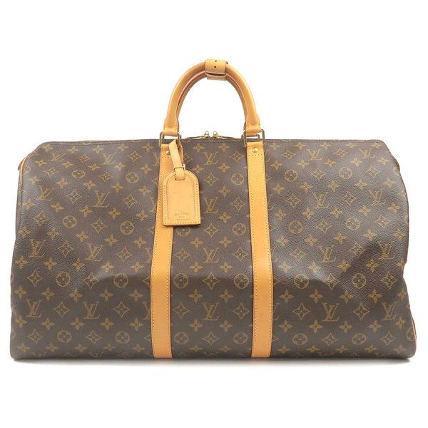 Louis Vuitton Monogram Keep All 55 Boston Bag M41424