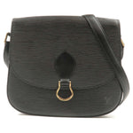 Louis-Vuitton-Epi-Saint-Cloud-Shoulder-Bag-Black-M52192
