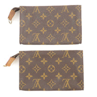 Louis Vuitton Monogram Set of 2 Pouch For Bucket GM