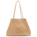 GUCCI-Calf-Leather-Shoulder-Bag-Beige-419689