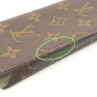 Louis Vuitton Monogram etui a lunettes simple Glass Case M62962