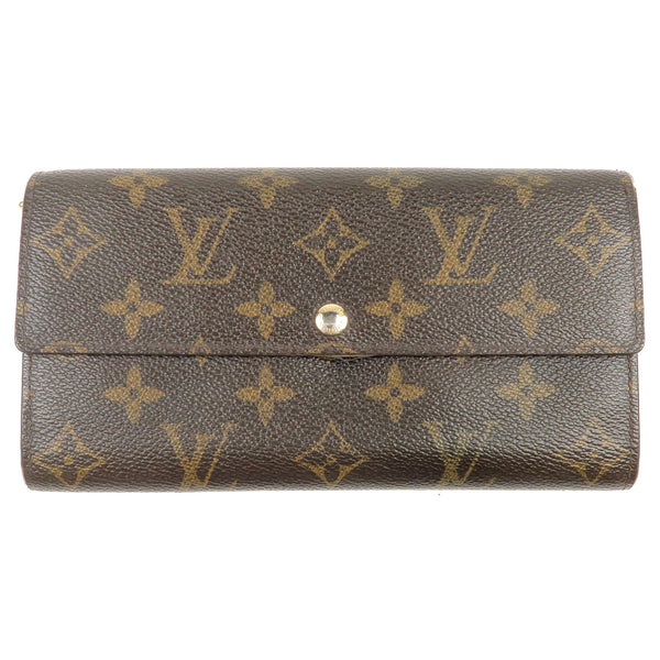 Louis-Vuitton-Monogram-Portefeuille-Sarah-Long-Wallet-M61734
