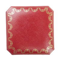 Cartier Set of 2 Ring Box Jewelry Box For Ring Red