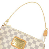 Louis Vuitton  Damier Azur Eva Chain 2Way Bag Pouch N55214